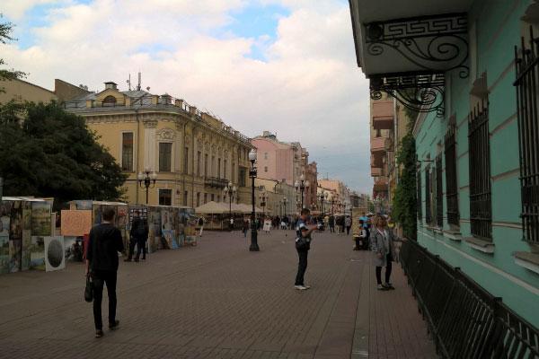 Улицы Москвы.
