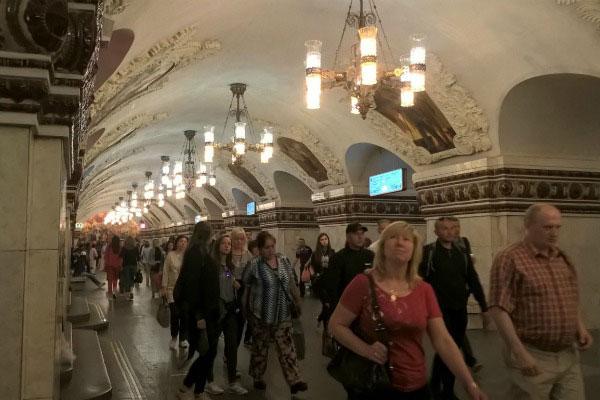 Московское метро.