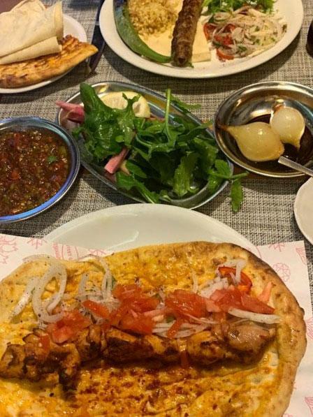 Турецкие блюда.