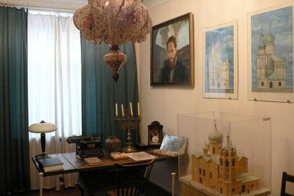 Квартира Спегальского.
