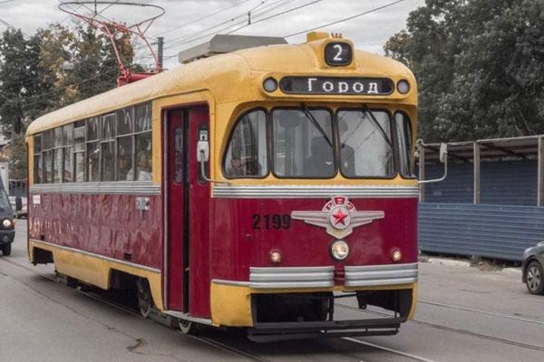 Новгородский трамвай.