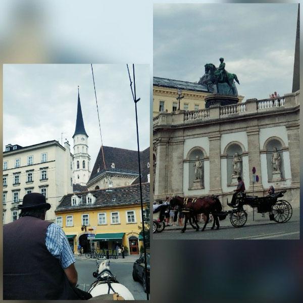 Поездка по Вене.