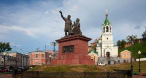 Нижний Новгород в августе.