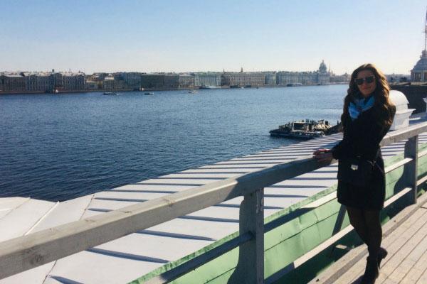 Вид на Петербург.