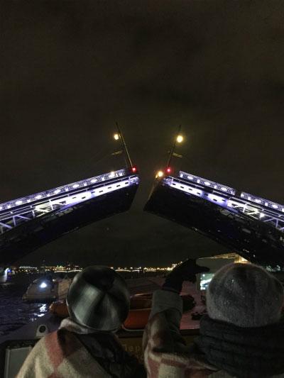 Мосты над Невой.