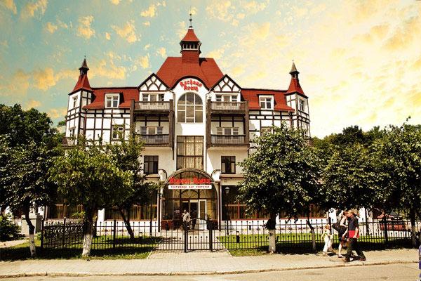 Гостиница Курхаус Кранц.