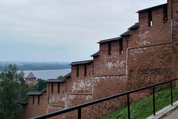 Кремлёвская стена.
