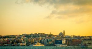 Осенний Стамбул.
