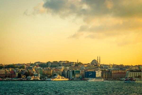 Осенний Стамбул 2020.