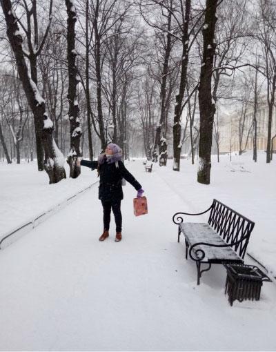 Михайловский парк.