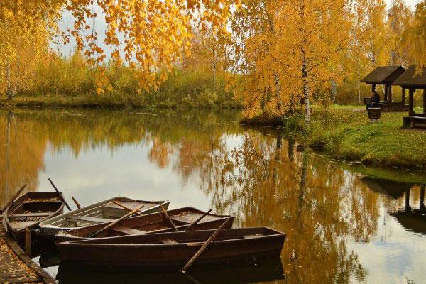 Осенняя Кострома.