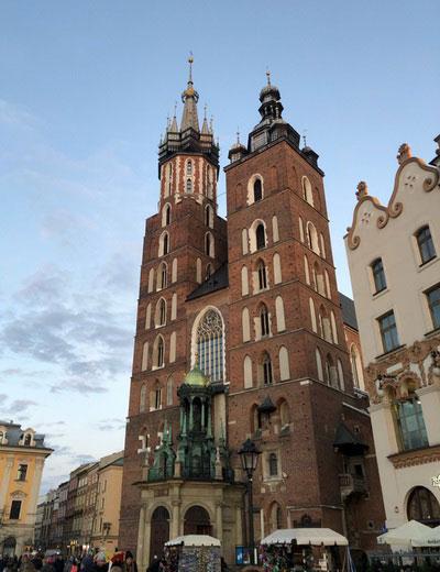 Архитектура Кракова.