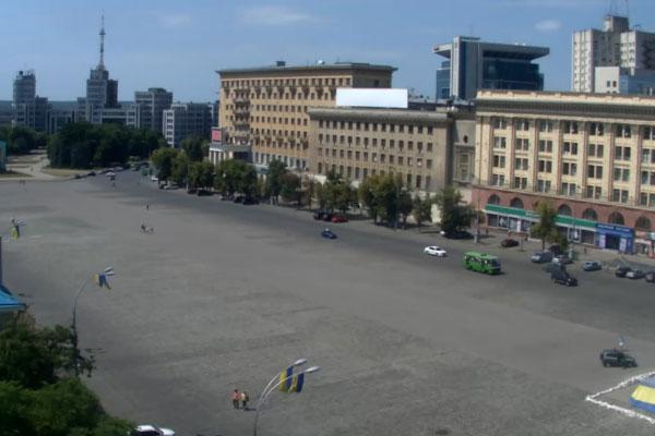 Площадь в Харькове.