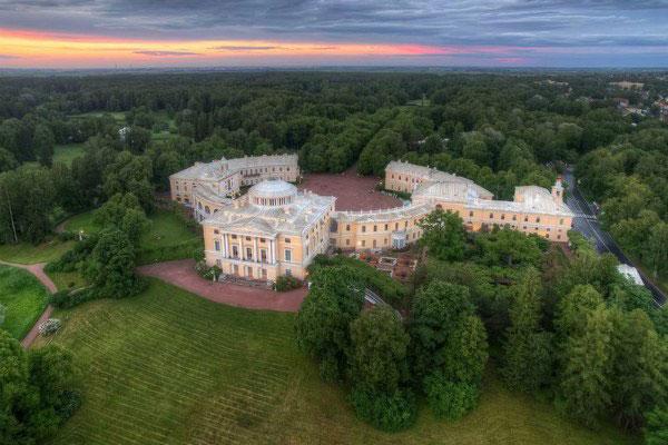 Резиденции царей.
