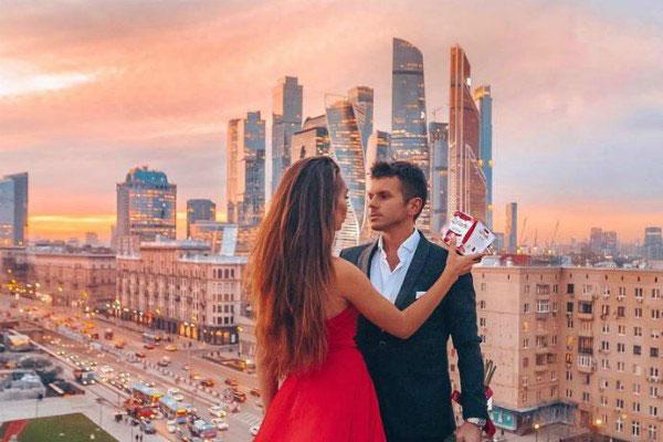 Виды Москвы.