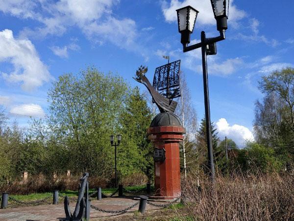Памятник мореходам.
