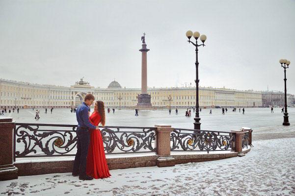 Романтичная прогулка.