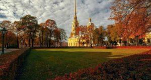 Сентябрь в Петербурге.