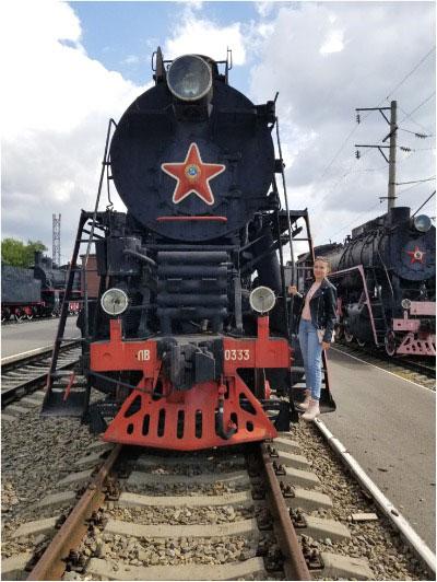 Музей железнодорожной техники.