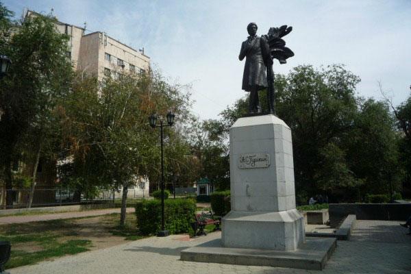 Памятник Пушкина.