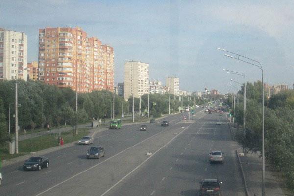 Улица Широтная.
