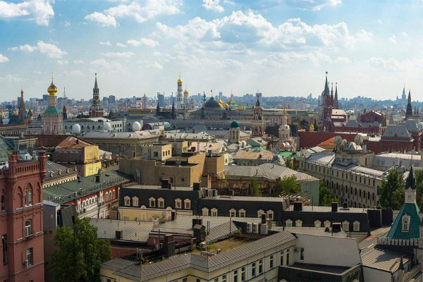 Крыши Москвы.