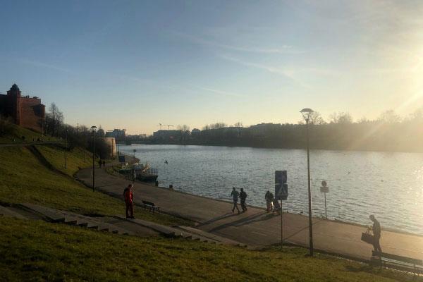 Река Висла.