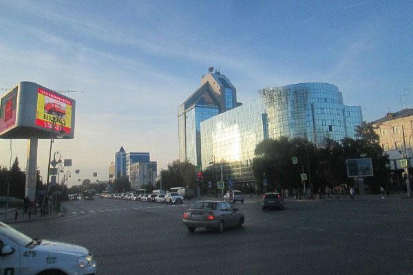 Центр Тюмени.