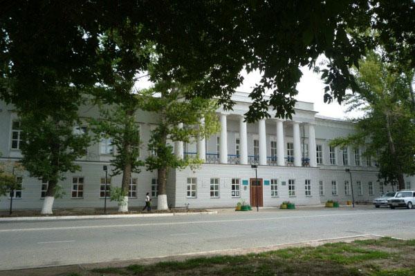 Бывшее здание канцелярии.