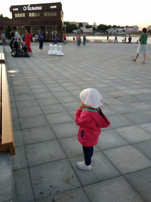 Шахматы на площади.