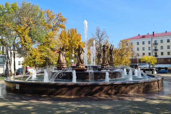Городской фонтан.