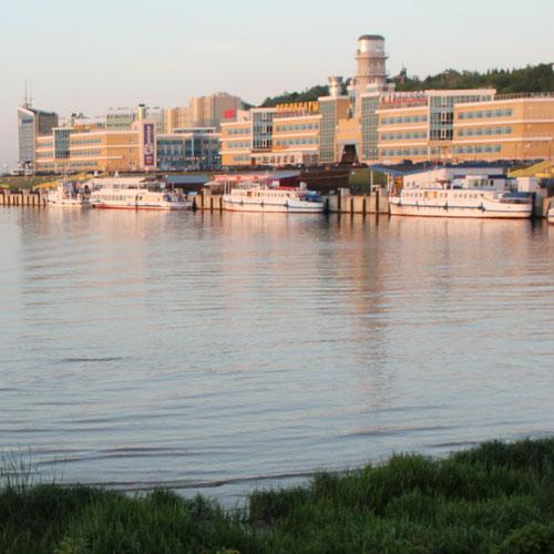 Речной порта.