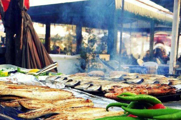 Еда в Турции.