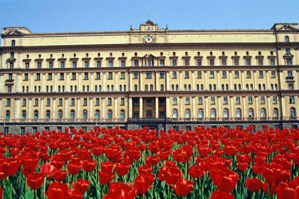 Весна в Москве.