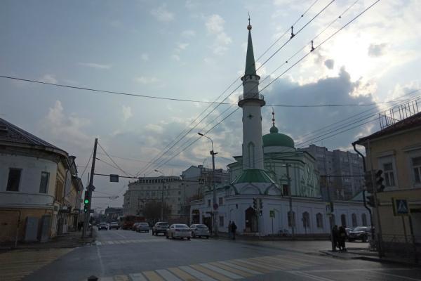 Здание мечети.