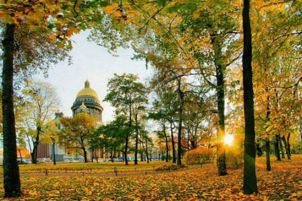 Осенний Петербург.