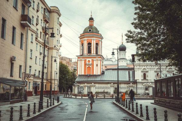 Московские улочки.