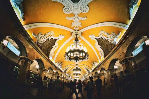 Метро Москвы.