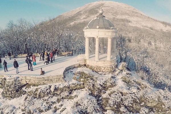 Зима в Пятигорске.