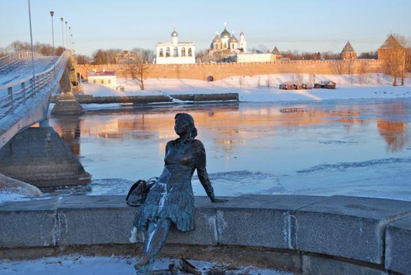 Весенний Великий Новгород.