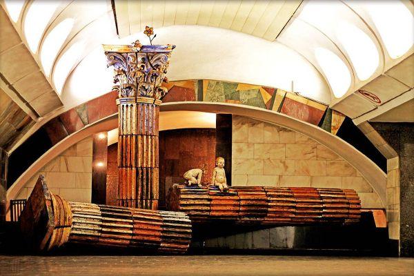 Экскурсия в метро.