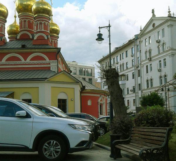 Прогулка по Москве.