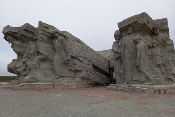 Каменоломни в Керчи.