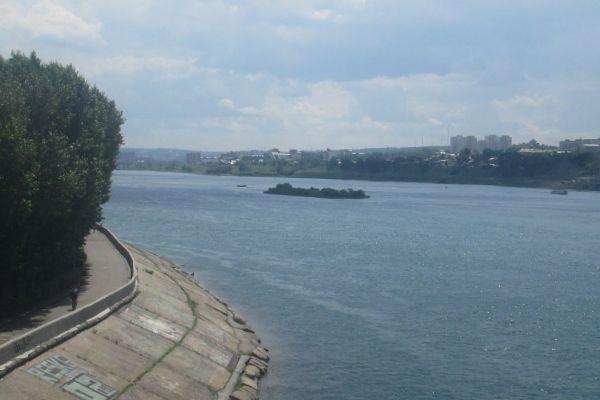 Вид на мост.