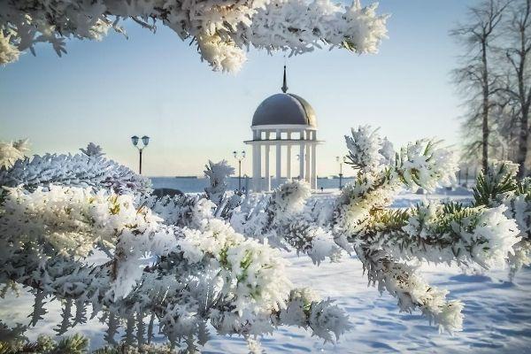 Весенний Петрозаводск.