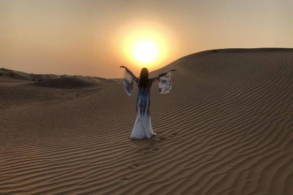Фотосессия в пустыне.