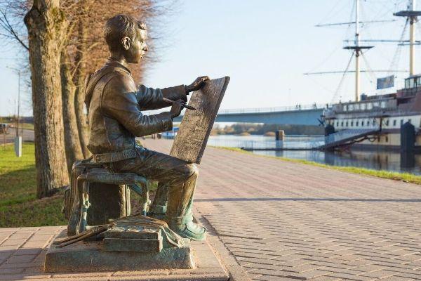 Прогулка по Великому Новгороду.