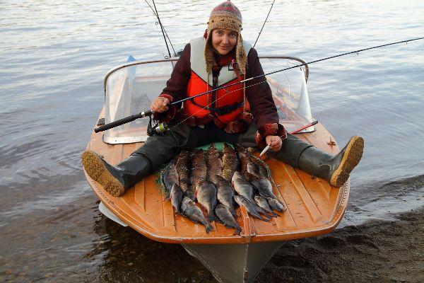 Рыбалка в Карелии.