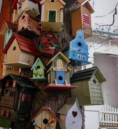 Домики для птиц.
