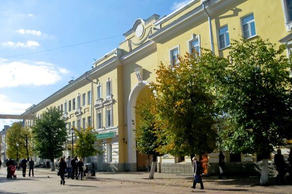 Улица Трехсвятская.